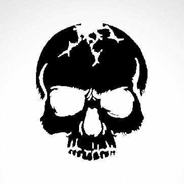 Crack Skull 02511