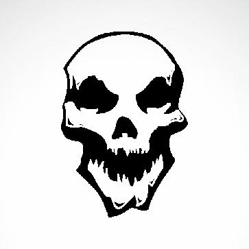 Smile Skull 02545