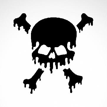 Melt Skull 02550