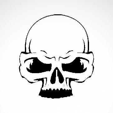 Simple Skull 02552