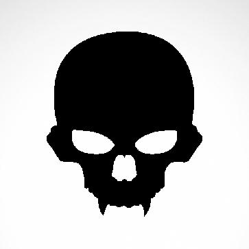 Evil Skull 02555