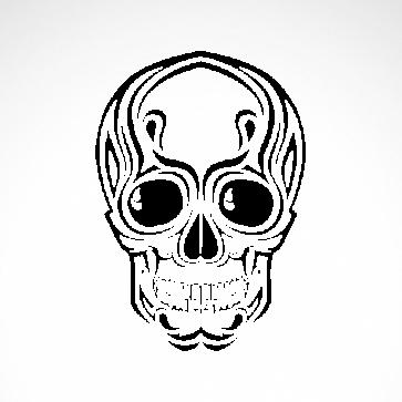 Ancient Skull 02561