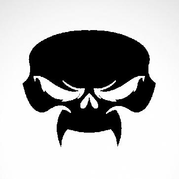 Evil Skull 02566