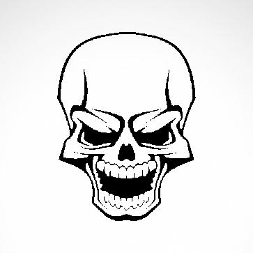 Smile Skull 02569