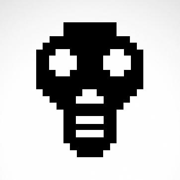 Digital Arcade Skull 02571