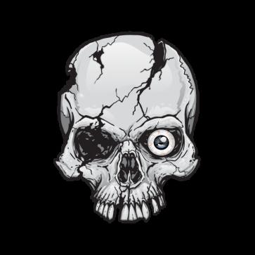 Terror Skull 02590