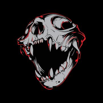 Draculla Skull 02597