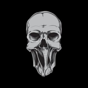 Skull Alien 02598