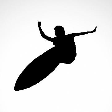 Surfer Surfboard 03320