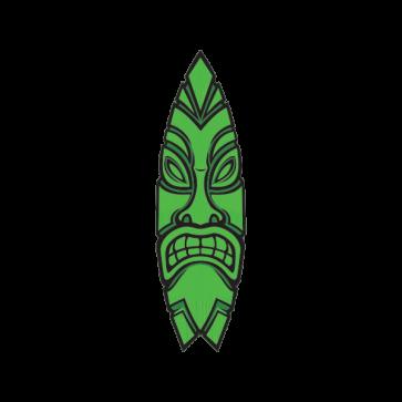 Tiki Surfboard 03328