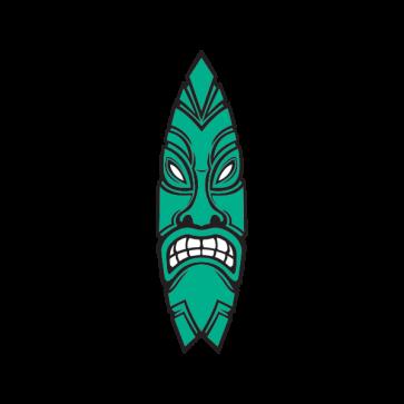 Tiki Surfboard 03333