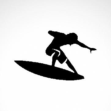 Surfer Surfboard 03338