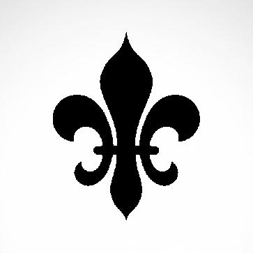 Fleur De Lis Logo Symbol 03601