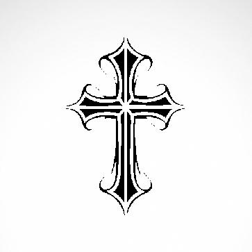 Heavy Metal Rock Cross 03628