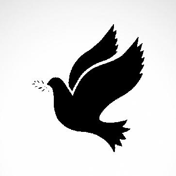 Peace Freedom Pigeon 03631