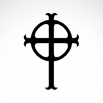 Ireland Celtic High Cross Graveyard 03643