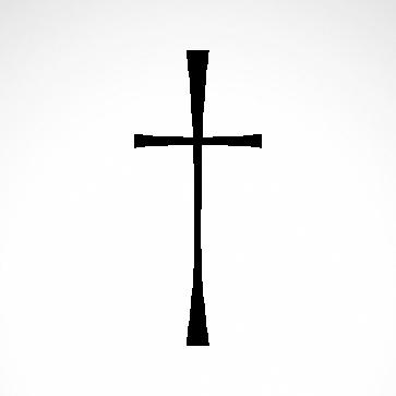 Crux Ordinaria Christian Cross Jesus 03645