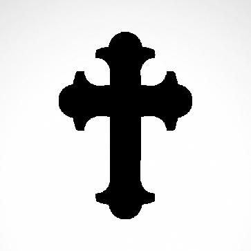 Byzantine  Eastern Orthodox Cross  03649