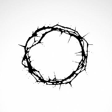 Jesus Crown Of Thorns 03657