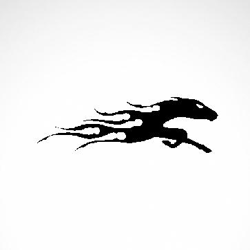 Racing Tribal Horse 04348