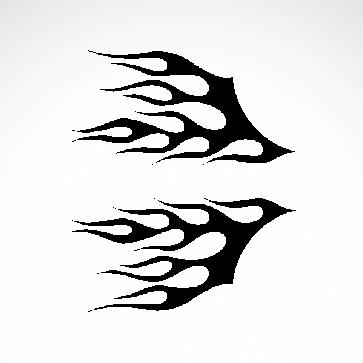 Pair Of Flames 04504