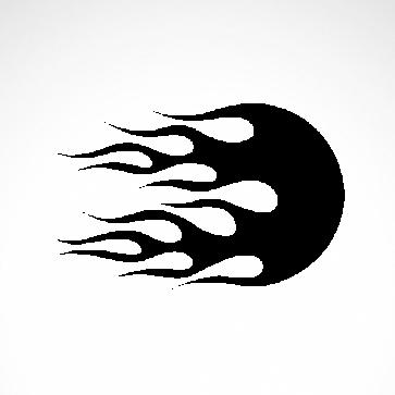 Vinyl Flames 04506