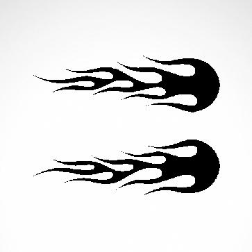 Pair Of Flames 04516