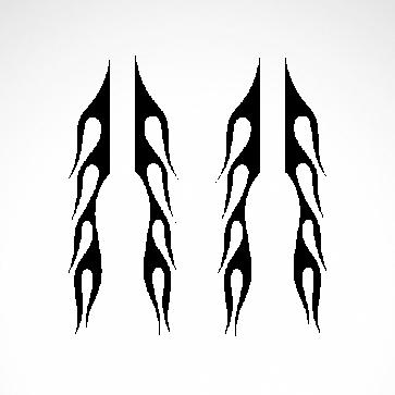 Pair Of Flames 04518
