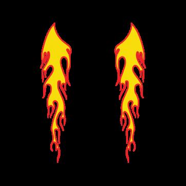 Pair Of Flames 04538