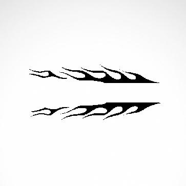 Pair Of Flames 04539