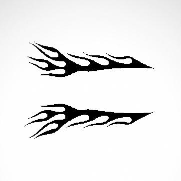 Pair Of Flames 04542
