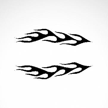 Pair Of Flames 04543