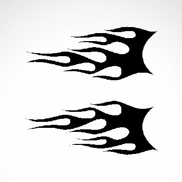 Pair Of Flames 04548