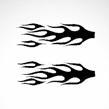 Pair Of Flames 04549