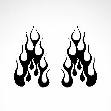 Pair Of Flames 04568