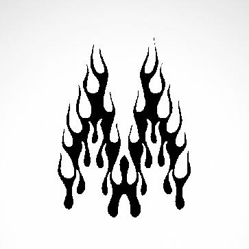 Vinyl Flames 04595