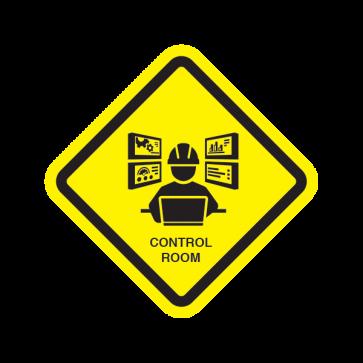 Control Room Sign 05009