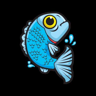 Blue Fish 05918