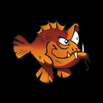 Dusky Grouper Fish 05939