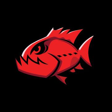 Angry Red Piranha 05942