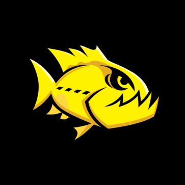 Angry Yellow Piranha 05945