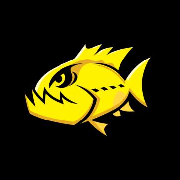 Angry Yellow Piranha 05946