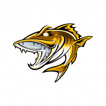Aggressive River Fish 05969