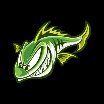 Aggressive River Fish 05973