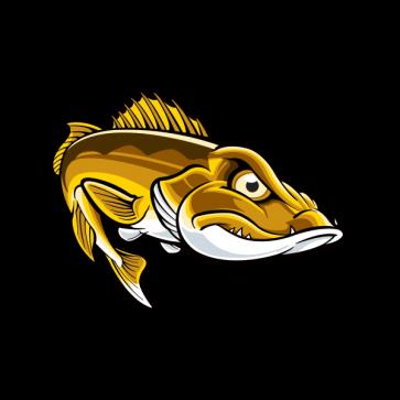 Aggressive River Fish 05993