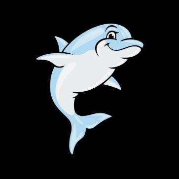 Happy Dolphin 05998