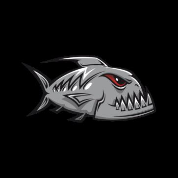 Angry Gray Racing Piranha 06014
