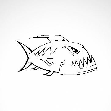 Angry Racing Piranha 06016