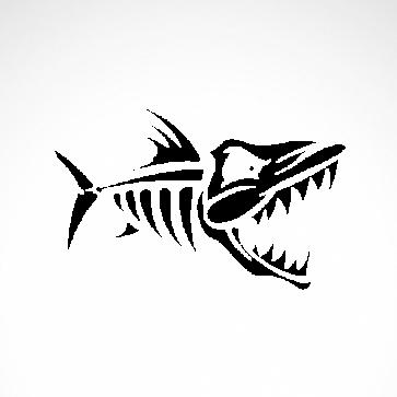 Fish Skeleton 06112