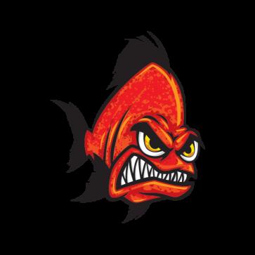 Angry Red Piranha 06140